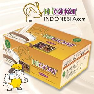 Higoat Susu Kambing Higoat Premium Madu